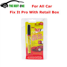 With Retail Box Car Clear Coat Applicator Fix It Pro Scratch Repair Remover Pen Car-Styling Cleaning Resist Water For All Car(China)