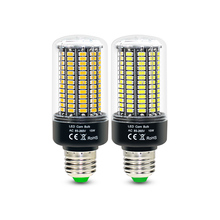 2pcs/lot LED corn bulb SMD5736 No Flicker Smart IC E27 E14 Led Lamp AC85-265V 28 40 72 108 132 156 LEDs ampolletas led Light(China)