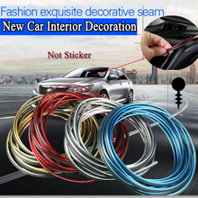 5M/Lot Car Decorative Filler Strip DIY Car Interior Decoration Moulding  Exterior Body Modify Decal Auto Car Sticker