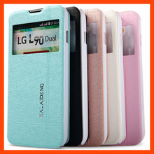 5Color For LG D410 New Discount Phone Cover Original Kalaideng Brand ice leather Case For LG L90 D410 Free Shipping Track Number