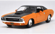 Maisto 1:24 1970 DODGE CHALLENGER R/T Diecast Model Car Toy New In Box Free Shipping