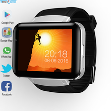 Time Owner DM98 Bluetooth Smart Watch Android 5.1 OS 512MB RAM 4GB ROM Health Tracker Support SIM Card Google Play/Map/Voice