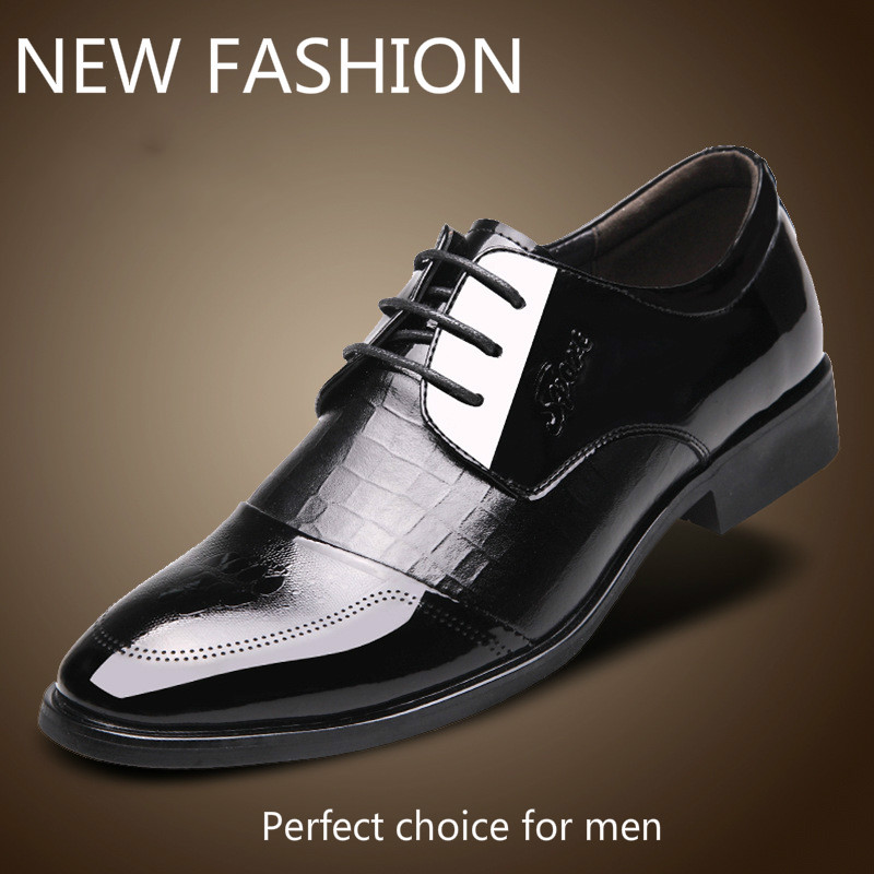 Free shipping High Quality 2017 Lace-Up Business Casual Shoes Men Wedding/Dress Shoes, Genuine Leather Men Oxfords V-9910 <br><br>Aliexpress