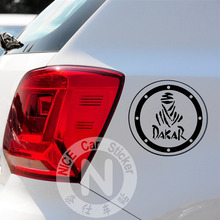 Car Stickers Dakar Rally Race Sports Logo Decals For Fuel Tank Cap Waterproof Auto Tuning Styling 13*13cm D10(China)