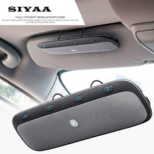 2016 New TZ900 Sunvisor Wireless Bluetooth Handsfree Car Kit Speakerphone Audio Music Speaker For iPhone Samsung Smartphones