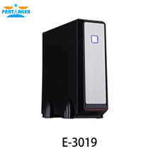 Powerful mini itx pc case E-3019 with power supply, handy htpc gaming desktop computer secc 0.6mm(China)