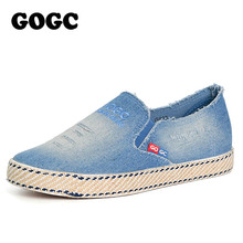 Buy GOGC Fashion Denim Shoes Women Slipony Comfortable Breathable Canvas Shoes Women Casual Shoes Female Footwear Flat Moccasins New for $21.66 in AliExpress store