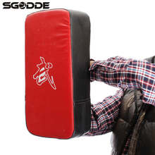 HOT 1pcs boxing pads Thai Kick Boxing Strike Curve Pads Muay Arm Punch MMA For Boxing Taekwondo Foot Target