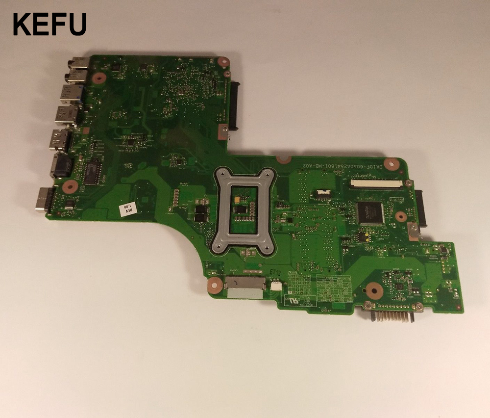 KEFU SPS:V000275550 For Toshiba Satellite C850 C855 L850 L855 Laptop Motherboard