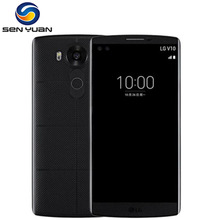 Original Unlocked LG V10 H900 H901 4G LTE Android Mobile Phone Hexa Core 5.7'' 16.0MP 4GB RAM 64GB ROM WIFI GPS Cell Phone(China)