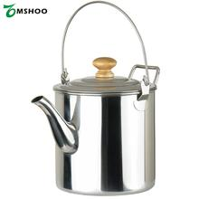 Portable 3000ML Outdoor Water Kettle Camping Hiking Stainless Steel Tea Kettle Coffee Pot With Handle for Backpacking(China)