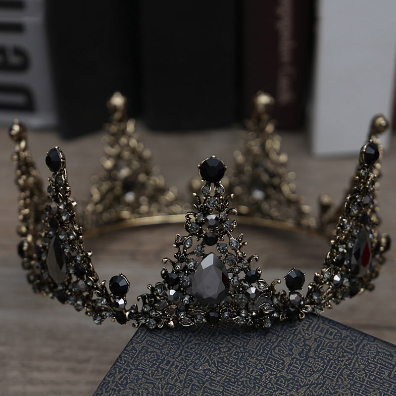 Black Crown Tiara