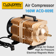 160W Air Compressor Electrical Magnetic Air Pump for CO2 Laser Engraving Cutting Machine ACO-009E