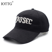 IOTTG 2017 Brand Game Watch Dog 2 WD2 Marcus Holloway Cosplay Two Panels Dedsec Baseball Cap Cool Personality Hats Cap(China)