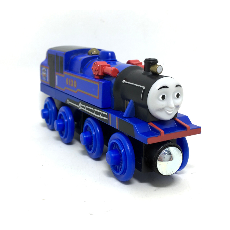 RARE NEW BELLE Original Thomas And Friends Wooden Magnetic Railway Model Train Engine Boy / Kids Toys Gift Children track game(China (Mainland))
