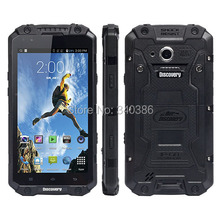 IP68 Waterproof Android Rugged Smartphone Discovery V9 5.5 Inch Touch Screen Quad Core 8.0MP Back Camera WIFI GPS