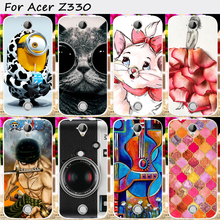 TAOYUNXI TPU Cell PhoneCover For Acer Liquid Z330 Z320 M330 CaseCover With a Camera Anti-Knock Mobile Phone Accessories & Parts(China)