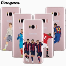 Cristiano Ronaldo Soccer Sports Stars TPU Phone Case For Samsung S8 plus S6 S7 edge Soft Back Cover for J2 J3 J5 prime Note 8 A3
