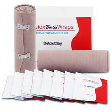 Detox Body Wrap for Sliming and Cellulite Contains 2 Bandages and 8pcs Clay 10PCS/ 1box