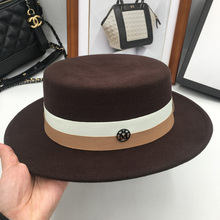 English new woolen nimping top short eaves cap M vogue hat for men and women(China)