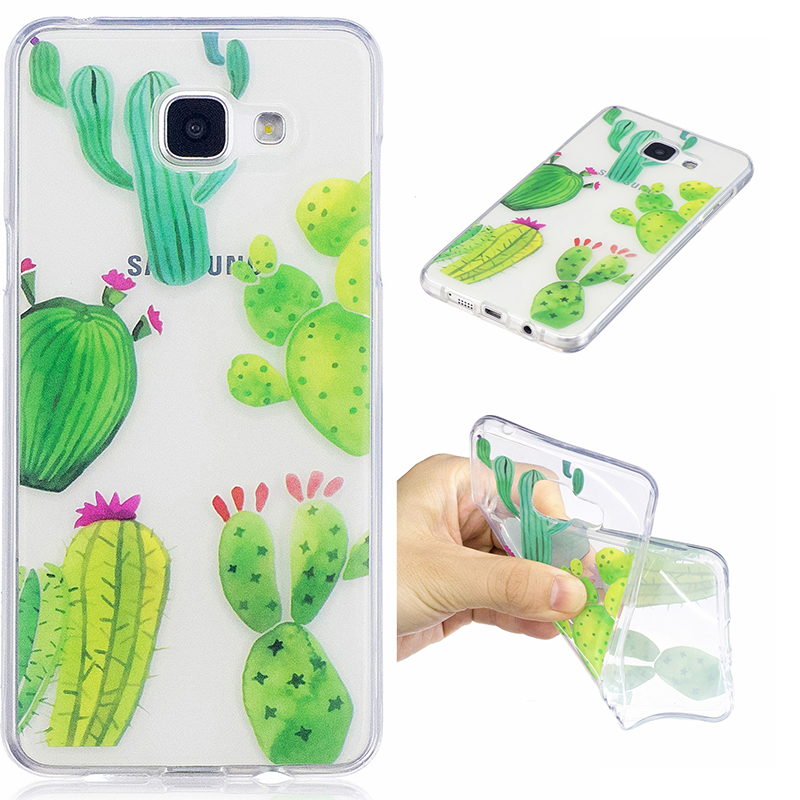 For samsung a510 Small animals Thin Soft Flexible Gel TPU Transparent Skin Scratch-Proof Bumper Case for samsung galaxy a5 2016(China (Mainland))
