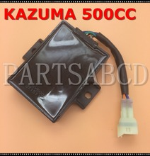 PARTSABCD KAZUMA 500cc 4 x 4 ATV quad Ignition CDI Box Assy c500-3704000(China)
