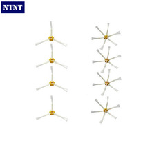 NTNT Free Post New 4 Pack 3 Armed + 6 Armed Side Brush For iRobot Roomba 500 600 700 Series(China)