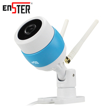Enster 720P HD wireless IP Camera wi-fi Indoor home security camera Two antennas Network Camera waterproof day and night switch