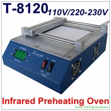 Authorized PUHUI T-8120 Preheating Oven T8120 IR O T 8120 SMD Infrared Preheating Station(China)