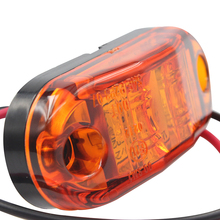 1pair 12V/24V 2 x Car Truck Trailer Piranha LED Side Marker Blinker Light Lamp Bulb Side Turn Signals Car Accessories hot sale