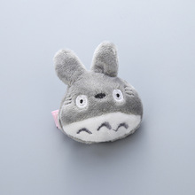 1 PCS 2017 Three-Dimensional Short Plush Totoro Hairpins Children Headdress Girls Hair Clips Headwear Baby Hair Accessories(China)
