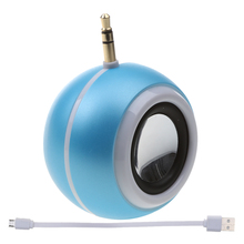 LED Ring Flash Selfie Light for Mobile Phone with Music Speaker Blue(China)