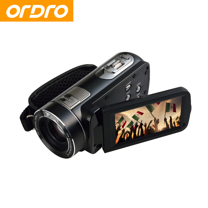 "ORDRO HDV-Z80 Digital Photo Cameras 10X 24MP Video Recorder Mini 3.0"" Touch Screen CMOS Video Recorder Camcorders(China (Mainland))"