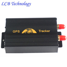 Manufacture Coban Car GPS Tracker TK103A GSM GPRS GPS Real Time G-Fence Speed Alarm Tracking System Device 10pcs/lot