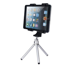 "Universal Tripod Mount Holder Bracket Thread Adapter Tripod For IPad Tablets High Quality Plastic 12.5cm/4.73"" To 20.5cm/7.87"""