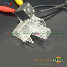 new ccd LEDS Car rear Camera for toyota 2014 corolla Yaris L ,LEVIN,vios,Verso EZ,camry 2012 2013 with lamp socket wire wireless