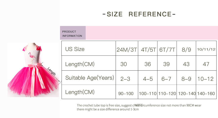 Girls Flamingo Kiss Tutu Dress Cartoon Flamingos Flower Princess Dresses for Photo Birthday Party Dress Up Clothing Summer Dress (16)