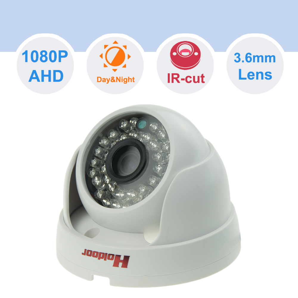 3.6mm Lens AHD 1080P CCTV Surveillance Camera with IR LED for Outdoor Indoor Night Vision NTSC PAL 1/4 CMOS  BNC connector<br><br>Aliexpress