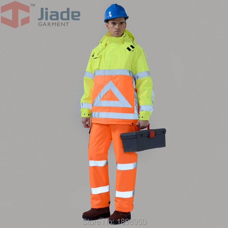 Jiade Mens Work Wear Winter Jacket Reflective Winter Papka Jacket<br><br>Aliexpress