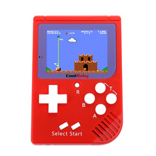 Coolbaby Retro Portable Mini Handheld Game Console 2.5 inch LCD Color Children Game Player Built-in 129 Games New year's gifts(China)