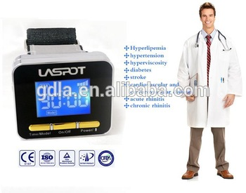 Fat cholesterol lower Treatment Equipment low level Laser watch(China (Mainland))