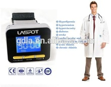 Fat cholesterol lower Treatment Equipment low level Laser watch(China)