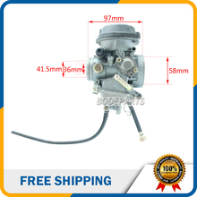 HK-155 PD36 36mm 500CC Atv Carburetor for Kazuma XinYang 500CC ATV Quad UTV Parts Carb Choke carbureter Free shipping
