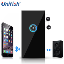 UniFish BTI-010 HiFi Bluetooth 3.0 Receiver with Audio Cable 2 in 1 Bluetooth Transmitter & Receiver Wireless 3.5mm Audio Music(China)