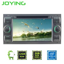 "JOYING 7"" Double Din Android 6.0.1 2GB+32GB Car Audio Radio Stereo For Ford Focus Fusion GPS Navigation Multimedia Player(China)"