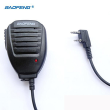 Best Walkie Talkie Baofeng Speaker MIC For Kenwood TYT Pofung Handheld UV5r UV-82 Bf-888s Bf 888s UV-5R Accessories Microphone(China)