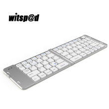 Witsp@d Mini Bluetooth 3.0 Keyboards for Andriod systems support Samsung Apple ios for iPad Keyboard tablets PC Desktop computer(China)
