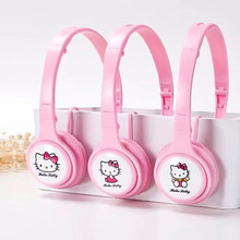 Hello Kitty Earphone 3.5mm Plug Headphones For MP3 MP4 player For iphone Samsung Xiaomi Smartphone Headset(China)
