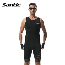 Santic Bike Bicycle Ropa De Ciclismo Maillot Outdoor Breathable Jerseys Clothing Man Cycling Triathlon Sports Anti-sweat Jerseys
