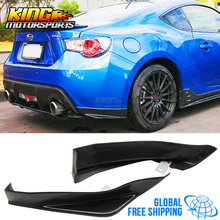 Fit For 13-17 Scion FRS Subaru BRZ Rear STI Bumper Lip Apron Global Free Shipping Worldwide